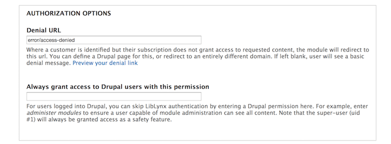 Add institutional access controls to Drupal in minutes with our new