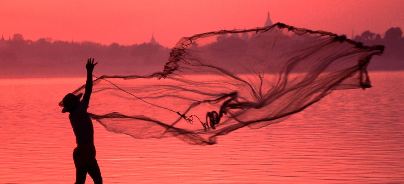 Casting a Net on the Irrawaddy